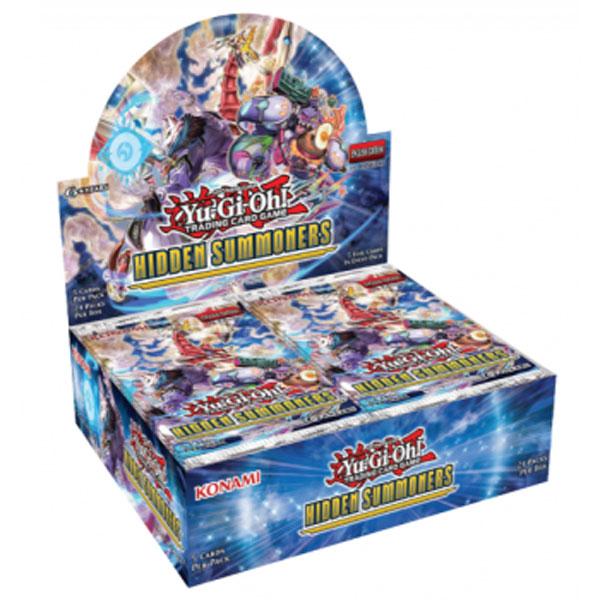 Yu-Gi-Oh, Hidden Summoners, Display (24 Boosters)