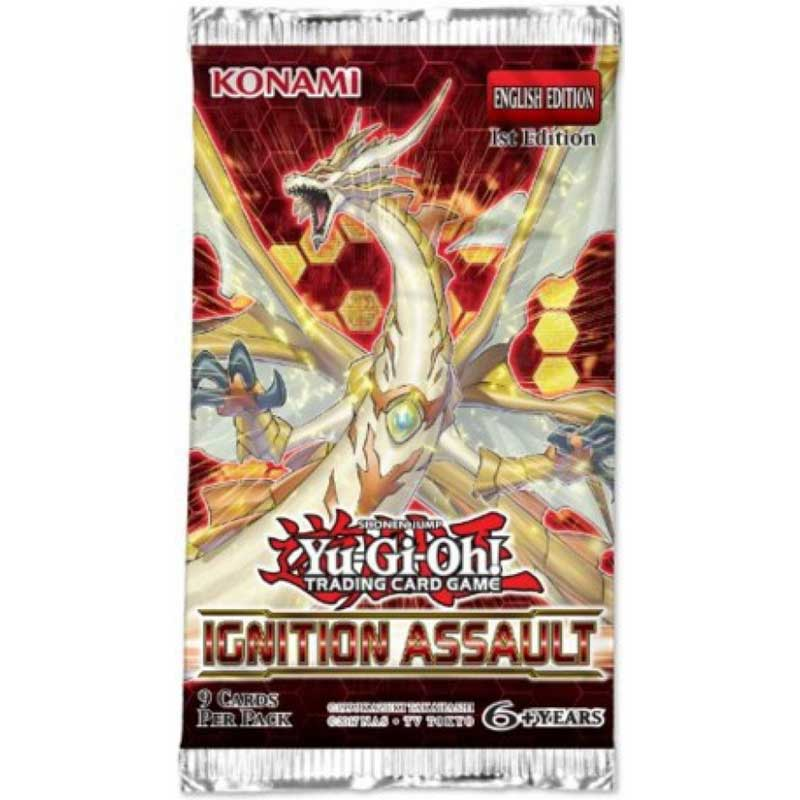 Yu-Gi-Oh, Ignition Assault, 1 Booster (9 cards)