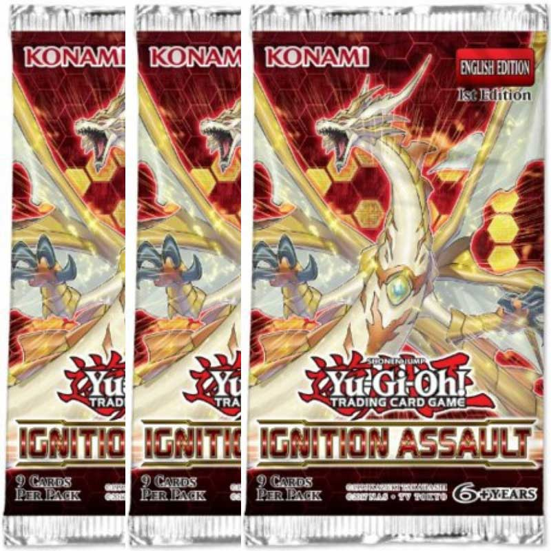 Yu-Gi-Oh, Ignition Assault, 3 Booster