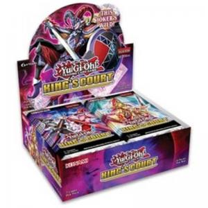 Yu-Gi-Oh, King's Court, 1 Display (24 Boosters)