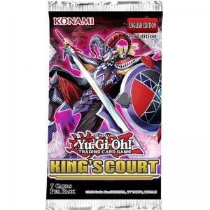 Yu-Gi-Oh, King's Court, 1 Booster (7 kort)