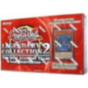 CONDITION: Yu-Gi-Oh, Legendary Collection 2 (Red) - Game Board Edition (Reprint) - Slight damage on carton