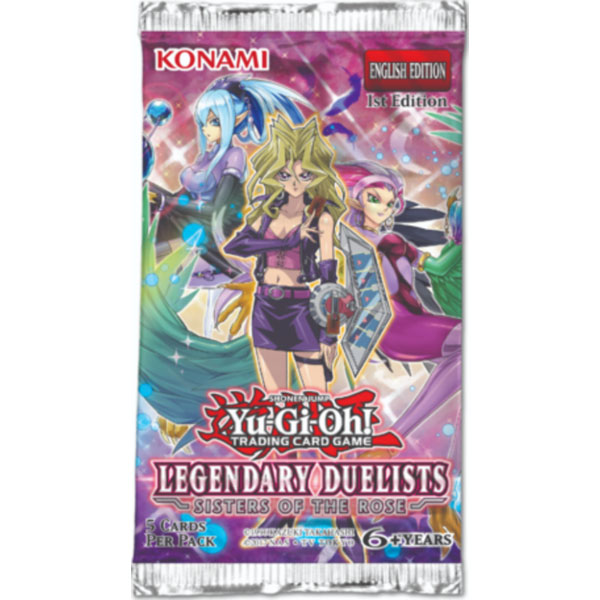 Yu-Gi-Oh, Legendary Duelists: Sisters of the Rose, 1 Booster (5 cards)
