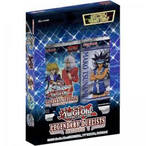 Yu-Gi-Oh, Legendary Duelists: Season 1 - Box (Innehåller 2 paket)