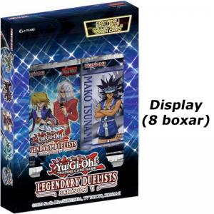 Yu-Gi-Oh, Legendary Duelists: Season 1 - Display (Innehåller 8 Boxar)