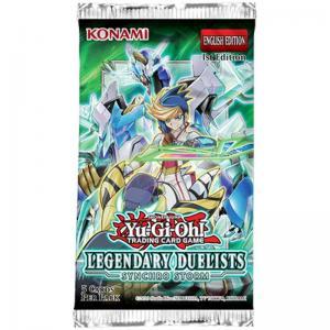FÖRHANDSVISNING: Yu-Gi-Oh, Legendary Duelists: Synchro Storm, 1 Booster (5 cards) (Börjar säljas när mer info finns)