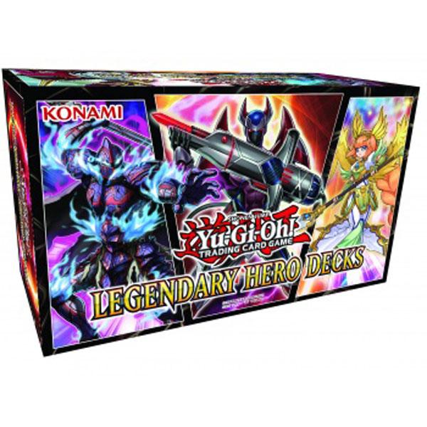 Yu-Gi-Oh, Legendary Hero Decks