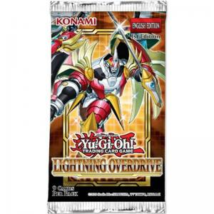 Yu-Gi-Oh, Lightning Overdrive, 1 Booster (9 cards)