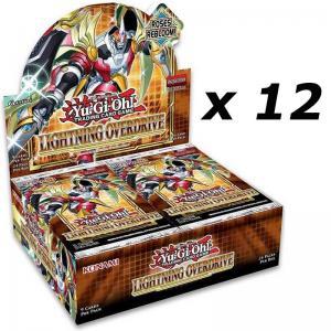 Yu-Gi-Oh, Lightning Overdrive, 1 Case (12 Displays)