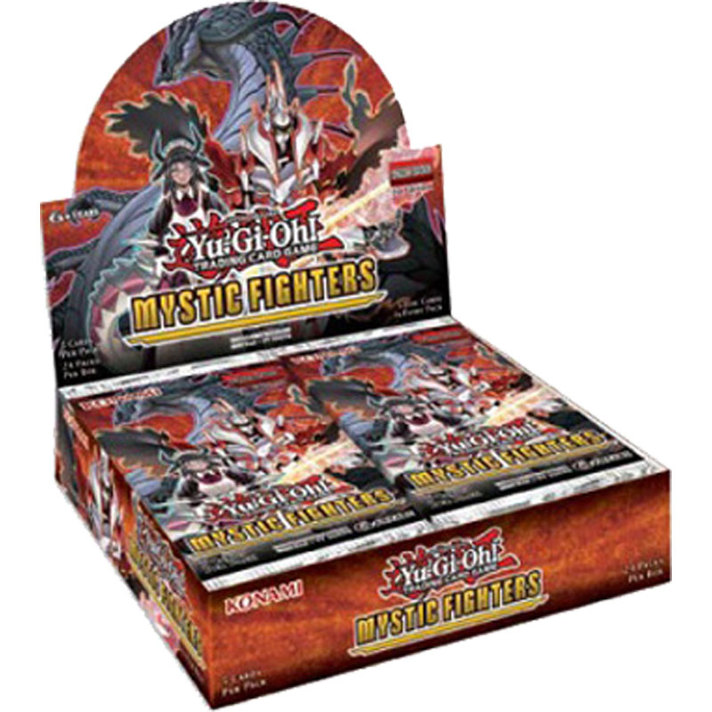 Yu-Gi-Oh, Mystic Fighters, Display (24 boosters)