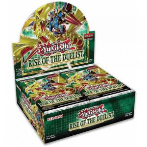 FÖRKÖP: Yu-Gi-Oh, Rise of the Duelist, Display (24 boosters) (Preliminär release 6:e augusti 2020)