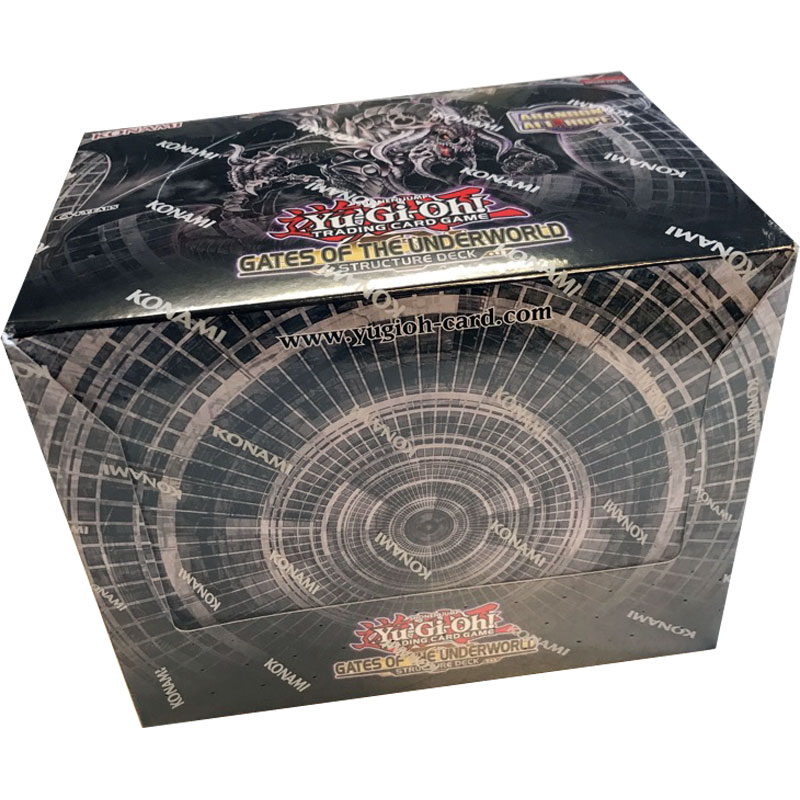 Yu-Gi-Oh, Structure Deck Sealed Display (8 Decks), Gates Of The Underworld (Unlimited)