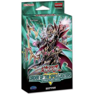 FÖRKÖP: Yu-Gi-Oh, Structure Deck, Order of the Spellcasters (Prel. release 25:e april 2019)