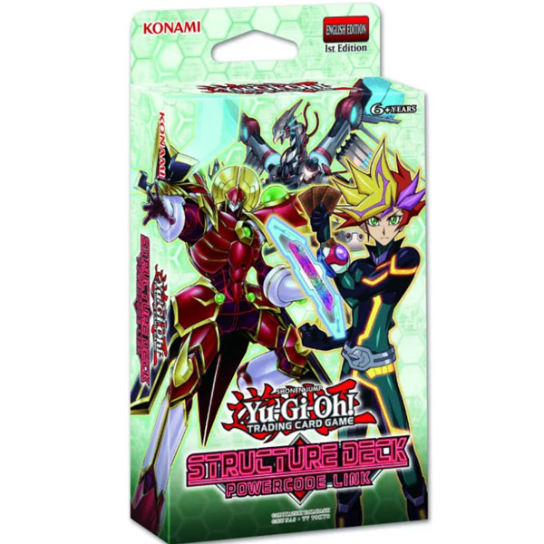 Yu-Gi-Oh, Structure Deck, Powercode Link (Red text on the box)
