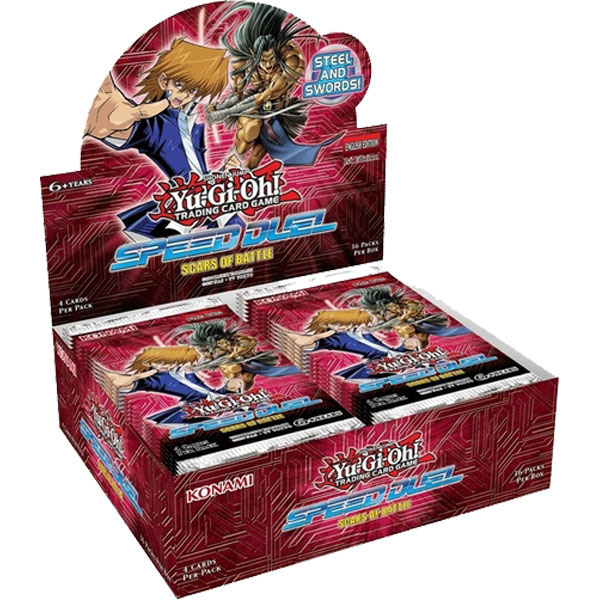 Yu-Gi-Oh, Speed Duel Scars of Battle, Display (36 boosters)