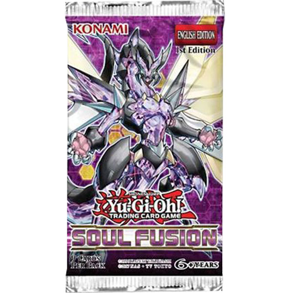 Yu-Gi-Oh, Soul Fusion, 1 Booster (9 Kort)