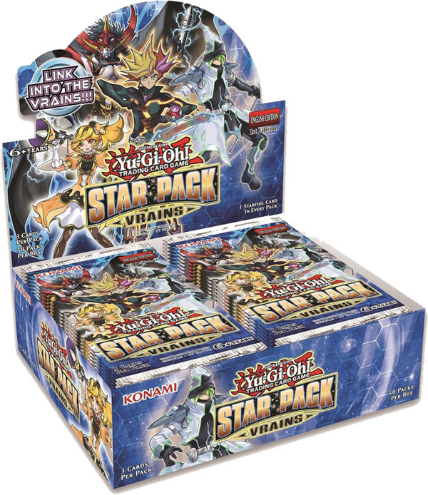 Yu-Gi-Oh, Star Pack Vrains, 1 Display (50 boosters)