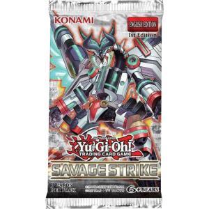 Yu-Gi-Oh, Savage Strike, 1 Booster (9 Kort)