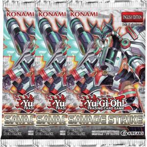 Yu-Gi-Oh, Savage Strike, 3 Boosters