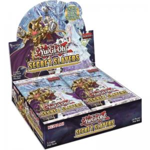 PRE-BUY: Yu-Gi-Oh, Secret Slayers, Display (24 boosters) (Preliminary release April 2:nd 2020)