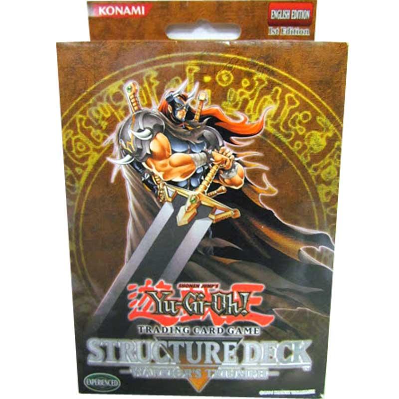Yu-Gi-Oh, Warrior's Triumph - Structure Deck (1st Edition)