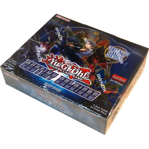 Yu-Gi-Oh, Destiny Soldiers, 1 Display (24 boosters)