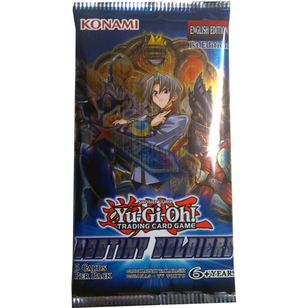 Yu-Gi-Oh, Destiny Soldiers, 1 Booster (5 kort)