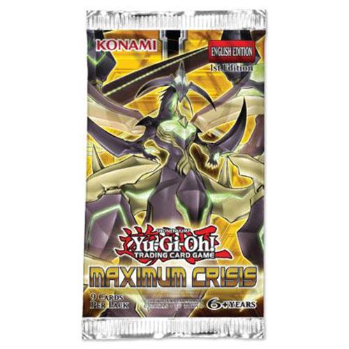 Yu-Gi-Oh, Maximum Crisis, 1 Booster (9 kort)