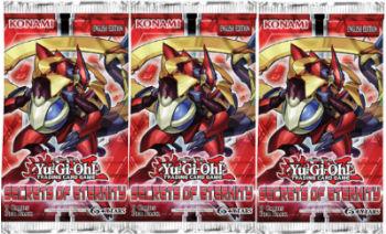 Yu-Gi-Oh, Secrets of Eternity, 3 booster