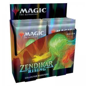 Magic, Zendikar Rising Collector Booster, Display