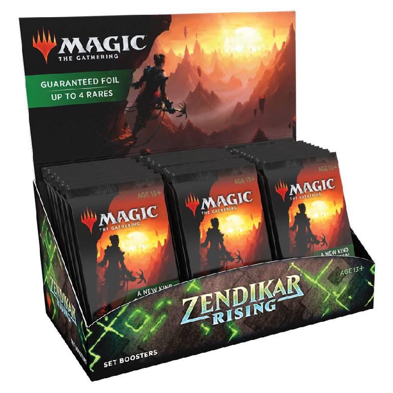 Magic, Zendikar Rising, Set Display