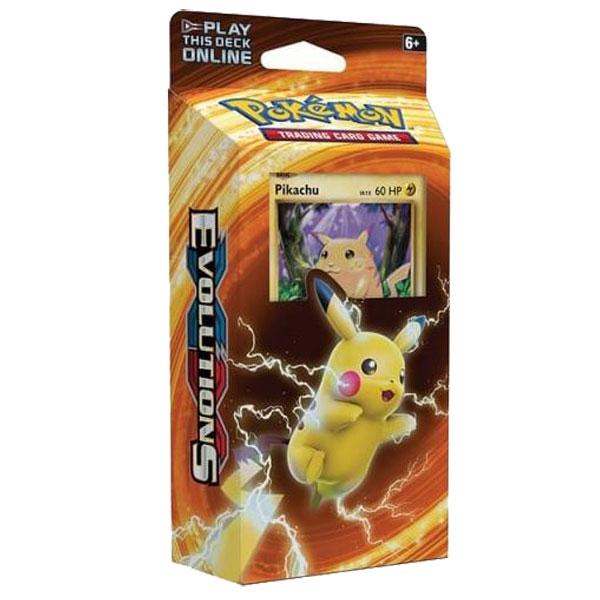 PIKACHU Xy Evolutions Theme deck,Pokemon SEALED 100 /% Authentic With Pikachu Promo