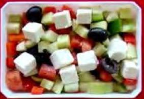Mixed Greek salad