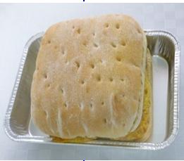 Smörgås med Ägg & Korv att värma