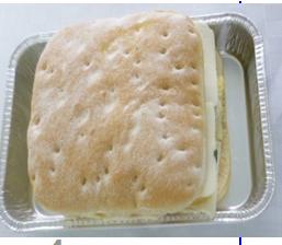 Smörgås Ägg & Spenat att värmas