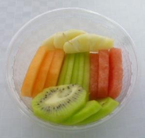 Fruktsallad - säsongens frukt