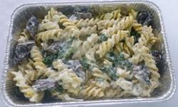 Vegetarisk - Pasta med svampsås