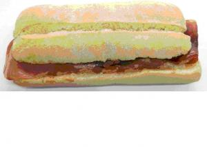 Sandwich - Serrano skinka