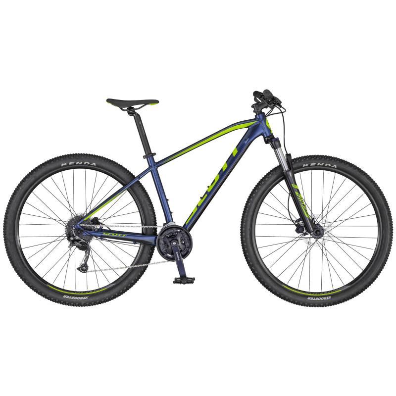 Scott Aspect 750 dk.blue/green Small
