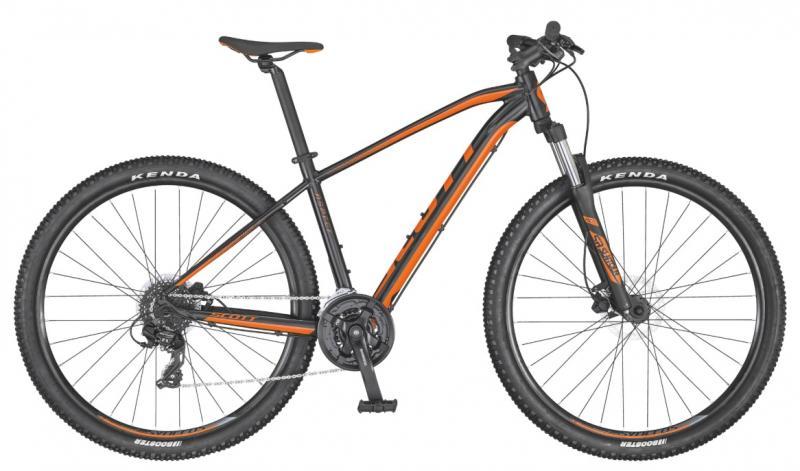 Scott Aspect 760 Svart/Orange Medium