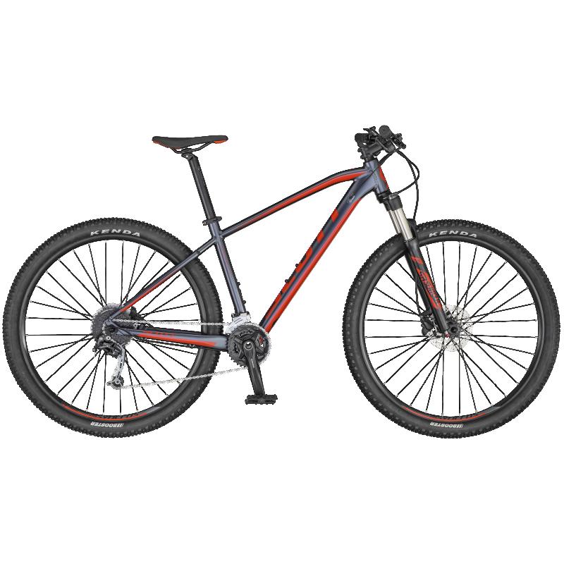 Scott Aspect 940 dk.grey/red Large
