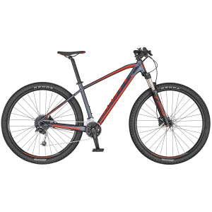 Scott Aspect 940 dk.grey/red Large
