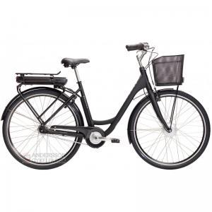 Monark E-Emma elcykel 7vxl svart matt 51cm