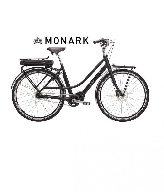 Monark Nytan Elcykel 51cm Svart ORD:24995