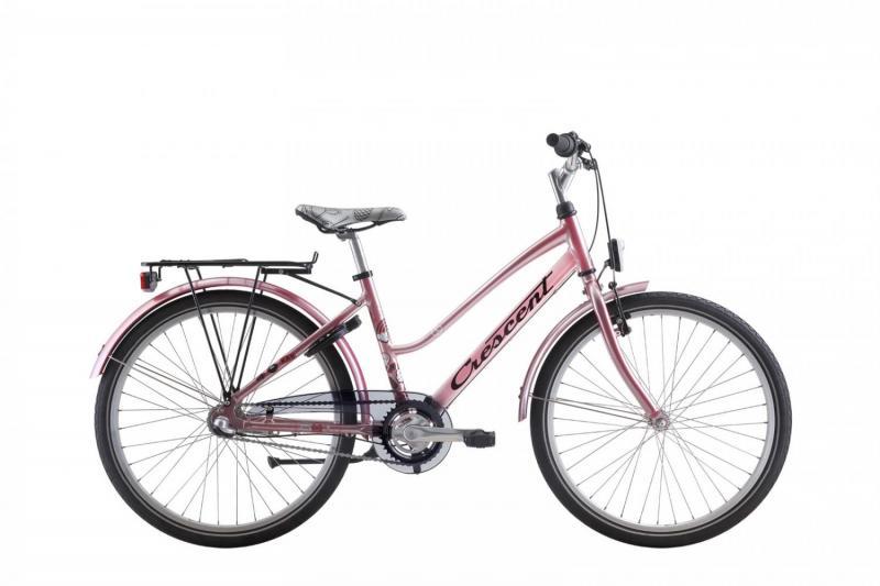 Crescent Ran 3växlar 38cm rosa