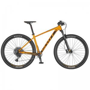 Scott Scale 970 Orange/ Svart Large
