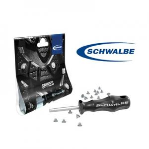Schwalbe Dubbsats (50styck), med verktyg