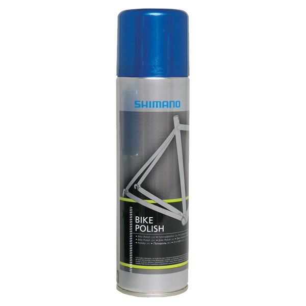 Shimano Bike Polish 200 ml, spray Puts och polermedel
