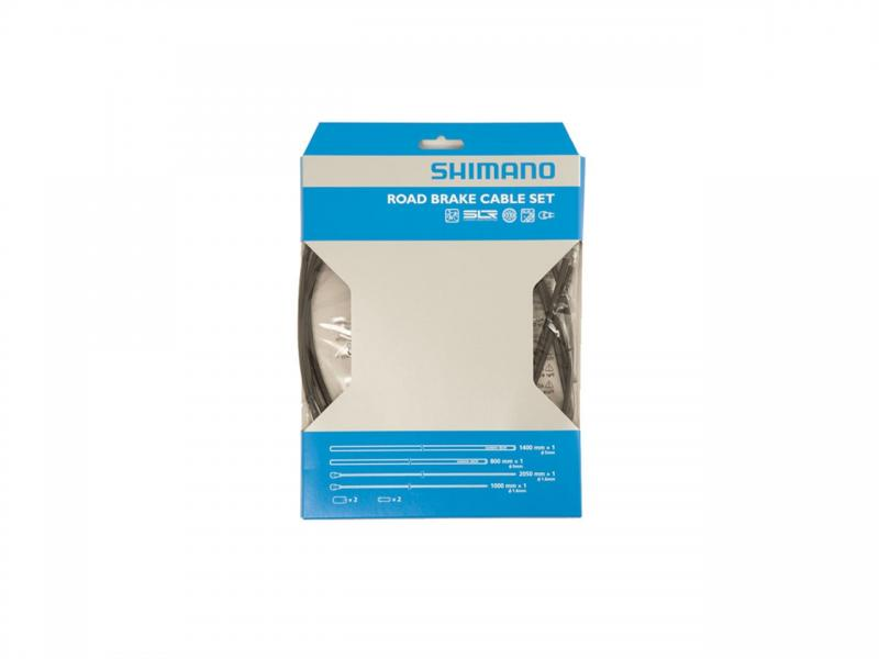 Bromsvajer Dura Ace 7800, 1st, 1,6x2050mm, rostfri