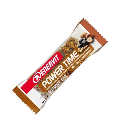 Enervit Power Time Bar Hasselnöt/Choklad 30g